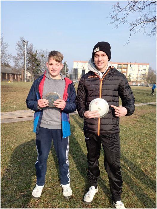 Raffai Csanád és Szabó Bence